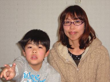 紫斑病10歳男子